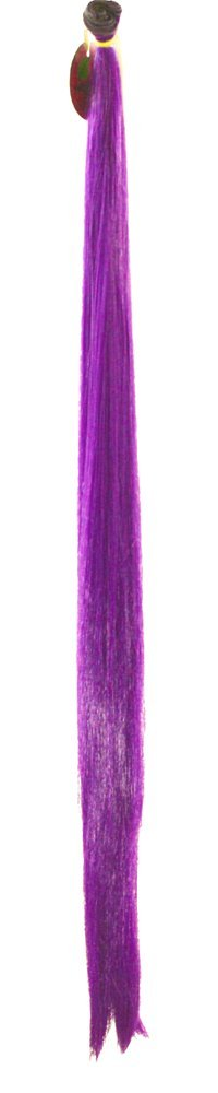 Short Weft Indigo Purple Synthetic Hair 17 inches in length 40 inches long NEW