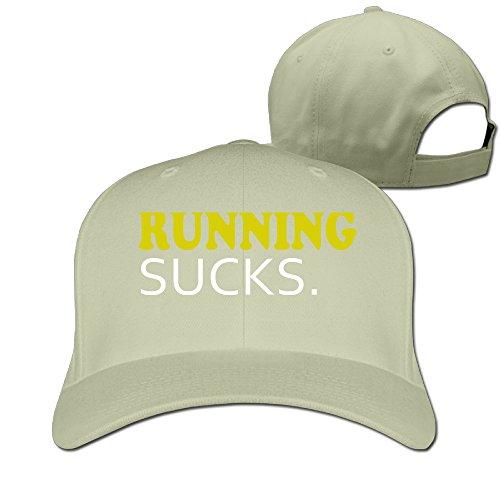 Running Sucks Classic Unisex Baseball Cap Hat -