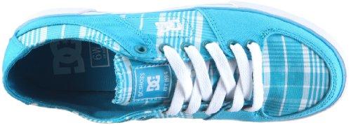 DC Shoes Pure 0 TX D0302826 - Zapatillas de tela para mujer Blanco (Weiss/WTUD)