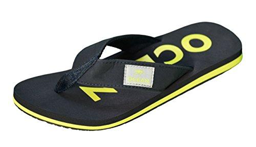 Zehenstegpantolette gelb dunkelblau MADSea MADSea Zehenstegpantolette dunkelblau Ocean Ocean gelb MADSea Zehenstegpantolette EOqwxg