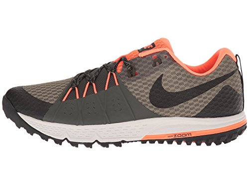 Cramoisi Air Séquoia Vert Zoom de Homme Nike Wildhorse Moyen Noir 208 Total Running Chaussures Olive 4 PdxU8O