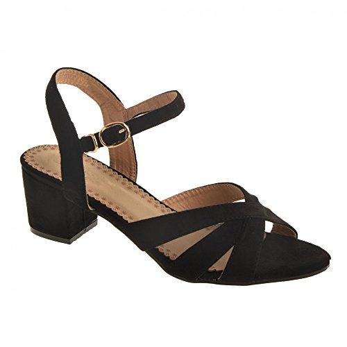 Sandales Femme Petit Talon carr