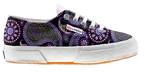 Superga Customized zapatos personalizados Flowery Paisley (Producto Artesano)