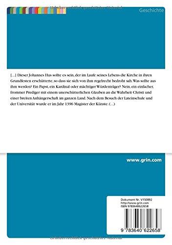 Das Schicksal des Johannes Hus. Über einen königlichen Geleitbrief ins Verderben (German Edition)