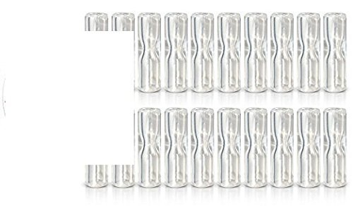 200 Beamer Smoke Glass Roller Tip Reusable Crutch / Filter Tips 1 - 200 Units! Works with Blunts, Cigarettes, Tobacco, Cigars, Rolling Paper, Cigarillos, Pipe Tobacco and More! + Beamer Smoke Sticker by Beamer