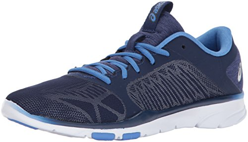 ASICS Women's Gel-Fit Tempo 3 Cross-Trainer-Shoes, Indigo Blue/Silver/Regatta Blue, 6 Medium US by ASICS