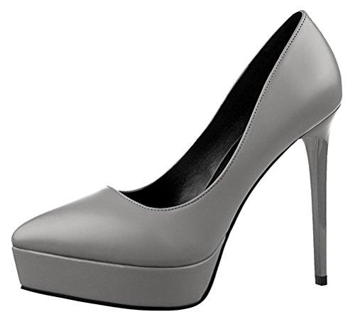 T&Mates Womens New Classic Elegant Versatile Stiletto Dress Platform Pumps Stiletto Heels Shoes (5.5 B(M) - Warehouse Selector Tips
