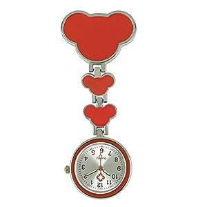EATHGL Enfermera Doctor Reloj Hombres Mujeres Cuarzo Hanging Doctor Relojes de Bolsillo Enfermera Relojes Reloj de