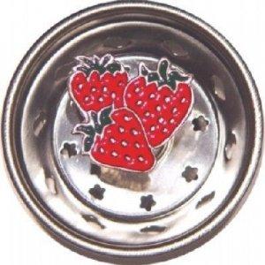 Strawberry Fruit Sink Strainer Drain Kitchen Decor (Strainer Sink Pewter Kitchen)