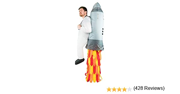 Bodysocks® Disfraz Hinchable de Jetpack Adulto: Amazon.es ...
