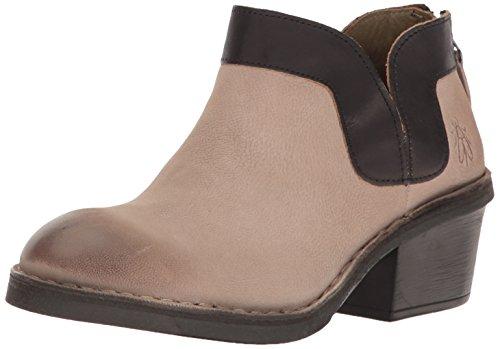 Dias892fly FLYA4 London Zapatos Gris Tacón 016 Mujer Concrete Fly de para Black rxwqCBr