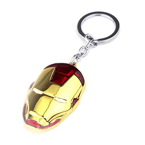 Amazon.com: Mar Iron Man Mask Keychain Super Hero The ...