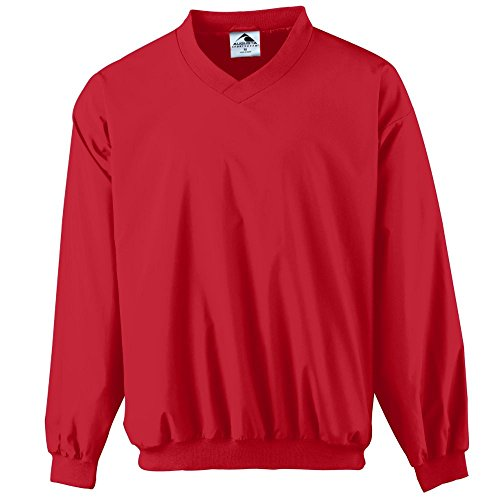 - Augusta Sportswear Micro Poly Windshirt/Lined, XX-Large, Red