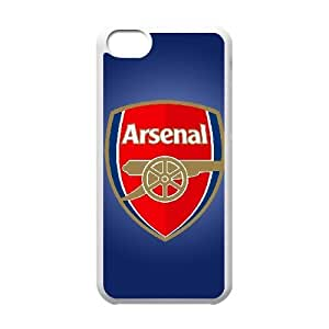 iphone5c case(TPU), logo arsenal Cell phone case White for iphone5c - HHKL3336741