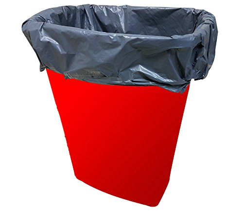 EXTRA LARGE Handle-Tie GARBAGE TRASH BAG Liner Bin Bags, FOR Tall Kitchen Outdoor Yard Cans, Not Torn Nor Dripping, 13 Gallon, 25 Count