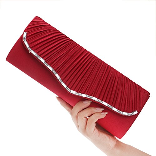 Noir Pochette Noir pour FUBULE Red Femme OTw7AUpq1