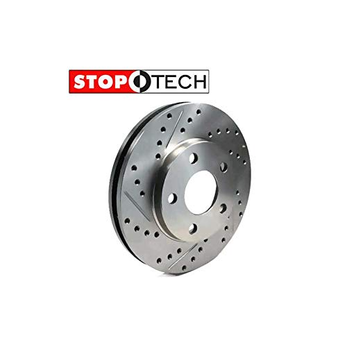 StopTech 227.66053L Select Sport Drilled /& Slotted Rotor Right