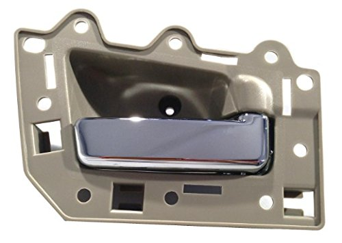 DELPA CL4307 > Right Beige/Chrome Inside Door Handle Fits: Jeep Grand Cherokee
