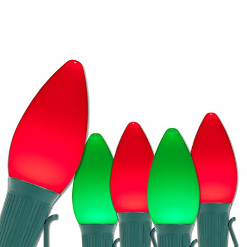 Red And Green Led Christmas Lights C7