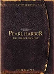 PEARL HARBOR: THE DIRECTOR'S CUT Vista Series DVD is the most extensive exploration of moviemaking ever presented. Four discs showcase more than 60 new shots in the film and over 12 hours of new special features. There's never been anything l...