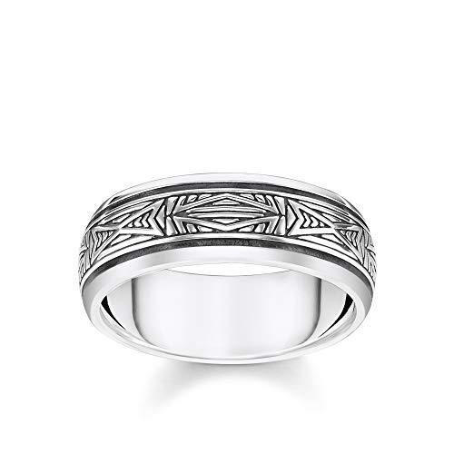 Thomas Sabo Unisex-Ring Ornamente silber 925 Sterlingsilber TR2277-637-21-48