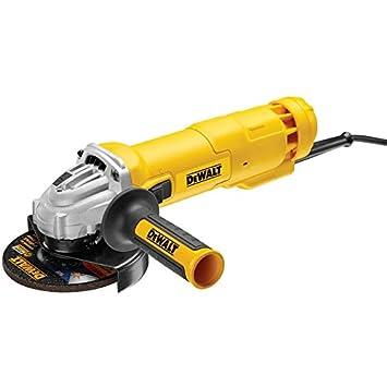 DeWalt DWE4233-QS Mini-Amoladora 125 mm 1.400W 11.500 RPM con Interruptor Hombre-Muerto: Amazon.es: Bricolaje y herramientas