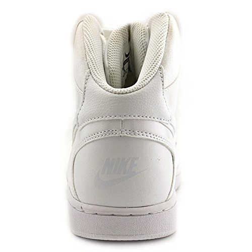 Wolf Chaussures Basketball Blanc Force Mid Son Femme White WMNS de Grey 110 of NIKE w0PzXxt
