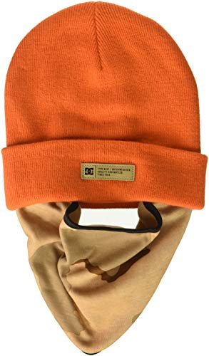 DC Men's Variable Neck Warmer, red/orange, One Size from DC