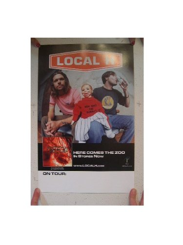 Local H poster LocalH Here Comes The Zoo