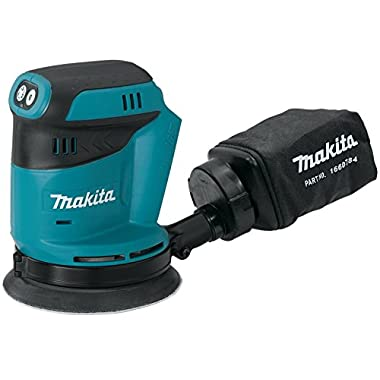 Makita XOB01Z 18V LXT Lithium-Ion Cordless Random Orbit Sander, 7,000, 9,500, 11,000 OPM, 5-Inch