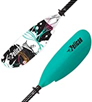 Symbiosa Kayak Paddle   Adjustable Fiberglass Shaft with Nylon Blades   Lightweight