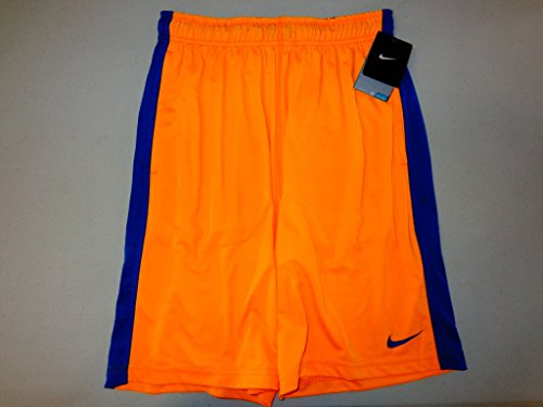 Nike Fly 2.0 Mens Athletic Shorts Gym Workout Dri-Fit Orange, S