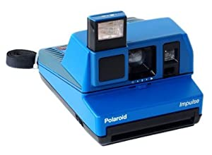 Polaroid Lapis Blue Impulse AF Instant Film Camera
