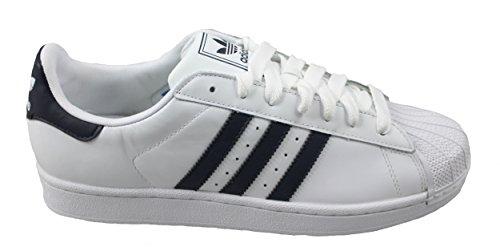 adidas Superstar Navy II Sneaker Uomo White UAB7wq