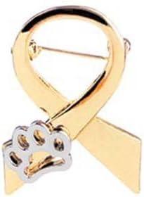 Grato per tutto Cute Brooch Cartoon Dog Claw Design Spille