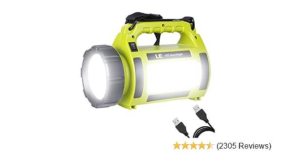 Heavy Duty Large Work Torch Lantern Light Camping Spotlight 6V Battery Torch