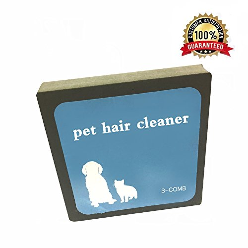 PretiHom B-Comb Pet Hair Cleaner, Reusable Hair and Lint Remover for Pet Dogs Cats,Pet Brush Hair Erasing for Bedding…