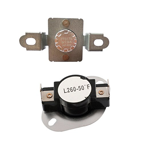 LONYE DC96-00887A& DC47-00018A Dryer Thermostat Thermal Fuse Assembly for Samsung Dryer (DC96-00887A& DC47-00018A) ()