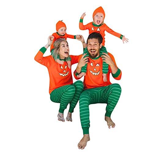 Maglione Sleepwear Camicetta Bambino Set Outfit Donne Camicie Top Elegante Felpe da Maglietta Pigiama Halloween Pantaloni Famiglia Donna nwwOvUqaY
