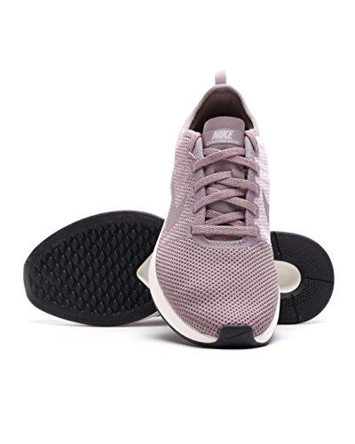 Nike Womens Dualtone Racer Running Scarpe Da Ginnastica 917682 Scarpe Da Ginnastica (uk 7 Us 9.5 Eu 41, Taupe Grigio Plum Fog 200)