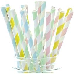 Pastel Straws