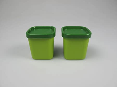 TUPPERWARE Flanero Microvapor 101° de 80 ml verde (2): Amazon.es ...