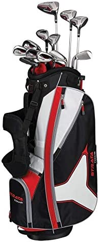 Strata Golf- Strata Tour 16 Piece Complete Set With Bag Regular Flex