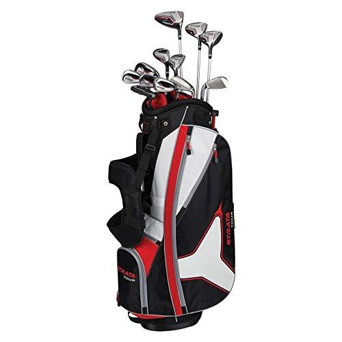 Amazon.com: Equipo completo de golf Callaway Strata Tour con ...
