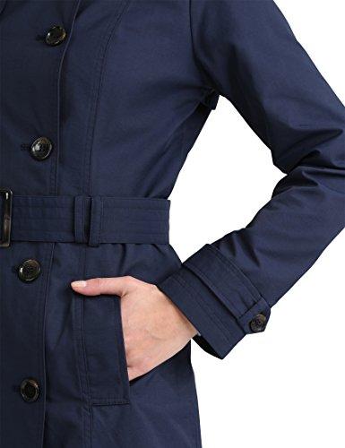 da con Navy Trench Blu donna Berydale coat cintura qU6fwvFEx