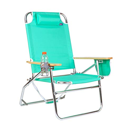 Oversized Heavy Duty 500 lbs Weight Limit Outdoor Beach & Camping Chair Big Jumbo