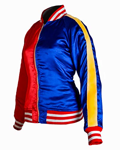 Margot Rhinomacs Elise Robbie's Jacket Harley Suicide Femmes Satinxxs3xl Pour En Squad Quinn Y76ybfg