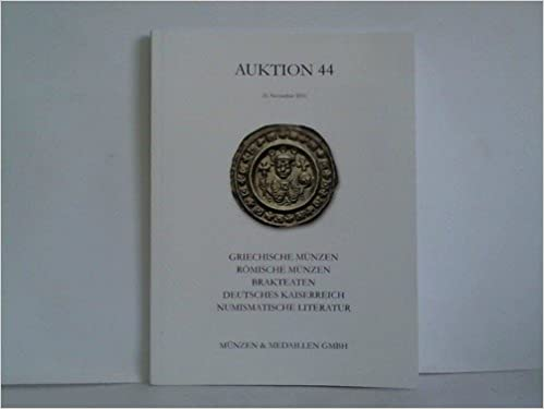 Auktion 44 Griechische Münzen Römische Münzen Brakteaten