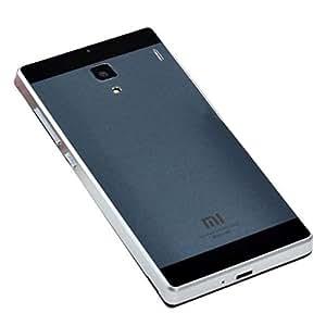 Espejo Piel Teléfono Volver cubiertas de los casos para Xiaomi Hongmi Redmi (color: gris)