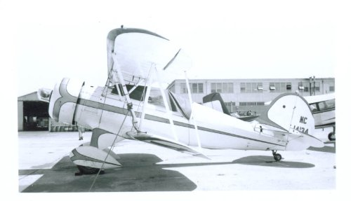 1935 Waco YMF N14134 airplane photo for sale  Delivered anywhere in USA